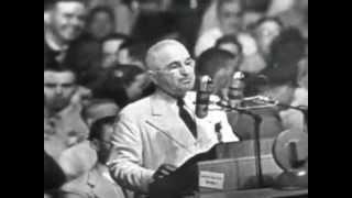 1948 Truman DNC Acceptance Speech (Full)