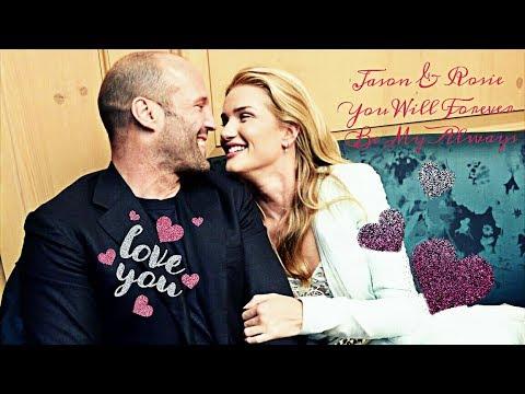 Jason Statham & fiancee Rosie Huntington-Whiteley - Flashlight, Spend My Lifetime Loving You