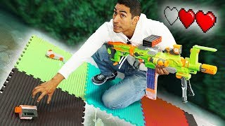 NERF Board Game | Choose Your Path Challenge!