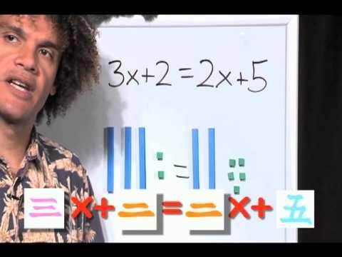 Chinese Math Problem Solving, Mortensen Math China, Kids Montessori K-12 Pre-school video