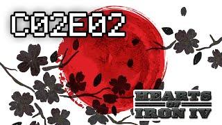 C02E02 Mega war - Hearts of Iron 4 - Japan, Romania / Free For All