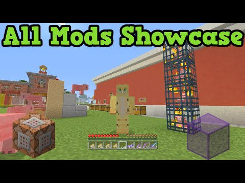 Minecraft Xbox One + PS4 MODS - Modded Map Showcase & Download