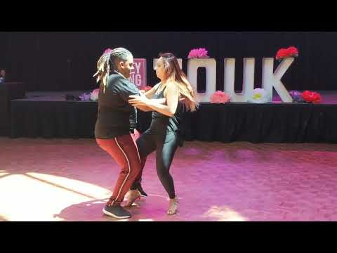 SSZF2018: Vanessa & Val in Saturday Workshop demo ~ Zouk Soul