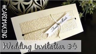 Wedding invitation #4 - Invitación de boda #4