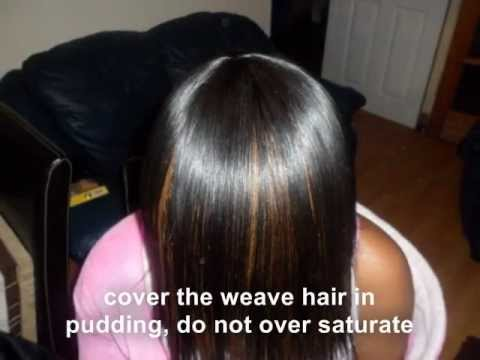 Full sew in Weave - tutorial - Braid pattern to closure - No Glue