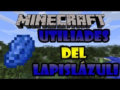 TUTORIAL Minecraft Para que sirve el Lapislázuli UTILIDADES