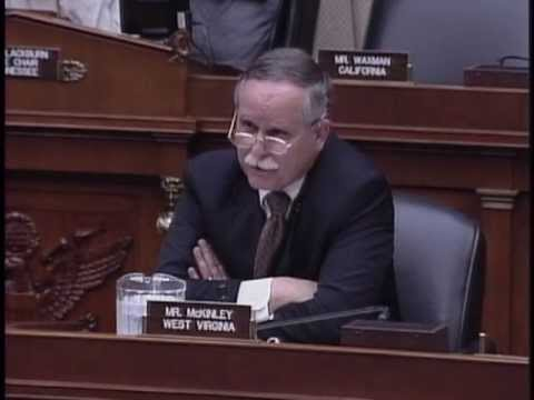 Rep. McKinley questions witnesses on cyber security.