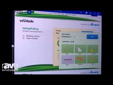 InfoComm 2014: Vivitek Corporation Demonstrates New Product NovoConnect