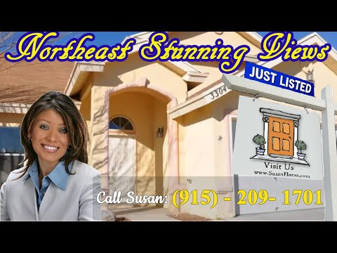 Homes for Sale El Paso TX - Northeast Stunning Views Great Price