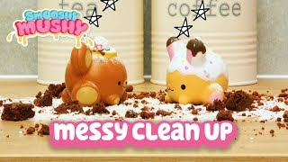 Smooshy Mushy Toys | Messy Clean Up | Toy For Kids