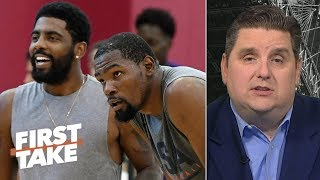 KD followed Kyrie to the Nets, but all is not lost for the Knicks – Windhorst | First Take