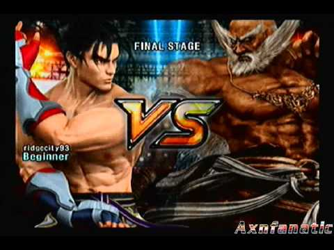 Tekken 5 Time Attack: Jin Kazama [part 2 Of 2] video