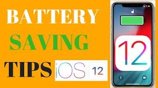 BATTERY SAVING TIPS IOS 12 - IOS 12 BATTERY TEST