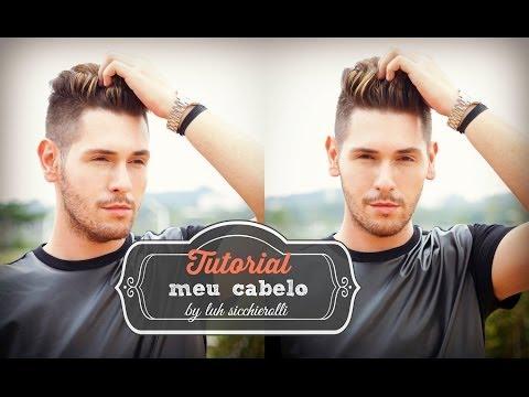 CABELO MASCULINO - TUTORIAL DO MEU CABELO