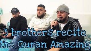 3 BROTHERS RECITE QURAN WITH AMAZING MAQAMATS