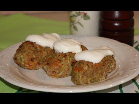 Гречневые котлеты.Очень вкусные котлетки из гречки и овощей(Meatballs from buckwheat and vegetables)