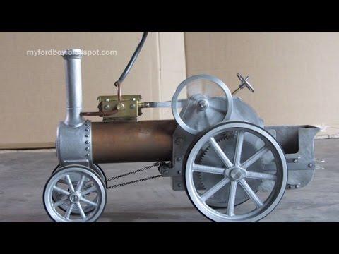 Simple Steam The Myfordboy Traction Engine Part 13 Steering