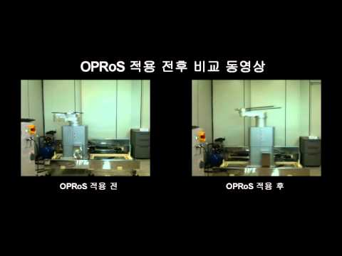 Before and After OPRoS on Wafer Transfer Robot