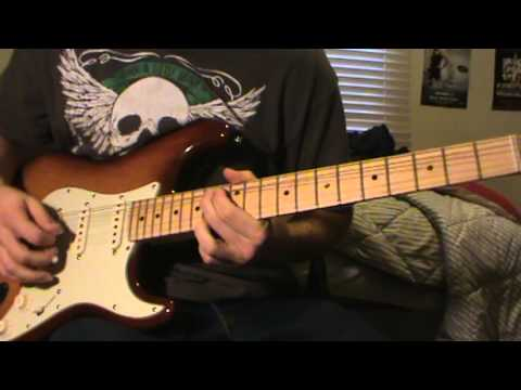 Creepin: Eric Church, Guitar Cover, Electric, Full Song video