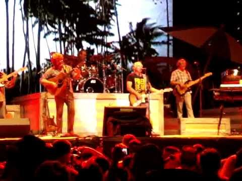 Jimmy Buffett live with Sean Payton&Sonny Landreth in New Orleans 2012 Final Four