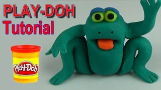 Play doh video tutorial frog