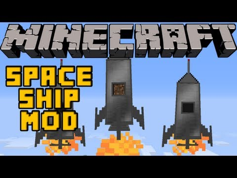 Chazofftopic - Minecraft Mods - SPACESHIP MOD! FLY TO THE MOON! [1.4.7]