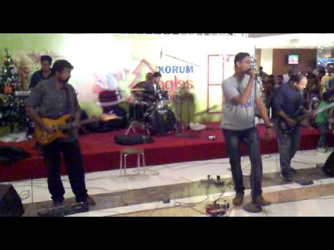 Moksh First Marathi Rock Band performance..
