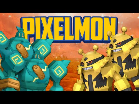 Minecraft Mods Pixelmon DOUBLE Lucky Dip Battle Minecraft Pokemon Modded Mini Game