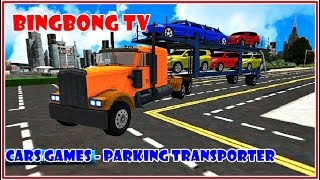 Parking Transporter Games Multistory Car Transport - Best Android Gameplay   Video Game  #carsgames