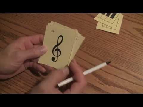 Basic Music Symbols Explained with Flashcards