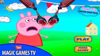 Игры для девочек свинка пеппа боится прививок