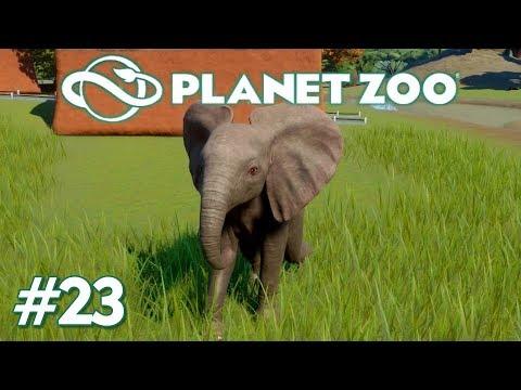 Planet Zoo #23 - Baby-Elefant auf Abwegen - [deutsch]