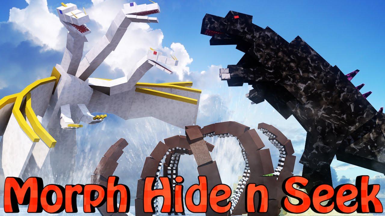Minecraft Mods Morph Hide And Seek Crazycraft Bosses
