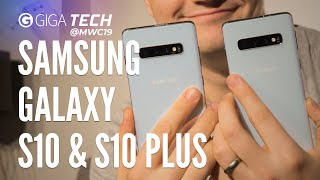 SAMSUNG GALAXY S10 / S10+ (Plus) Hands-on (deutsch): Alles, was ihr wissen müsst