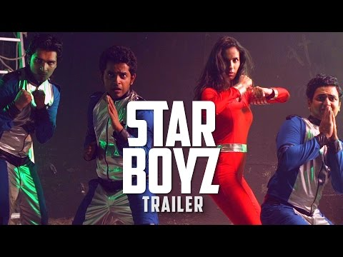 3 South Indian Boys in Space - STAR BOYZ TRAILER - Sci-Fi Comedy ENGLISH Web Series #LaughterGames