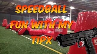 DIABLO - SPEEDBALL FUN WITH MY TIPX - Tipx Gameplay - Magfed Paintball