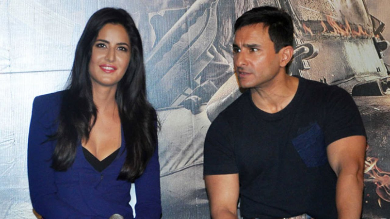 Vanity Van Of Katrina Kaif Katrina Kaif Angry on Saif Ali