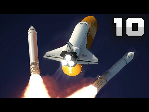 10 AMAZING SPACE SHUTTLE Launch Videos! [4K]
