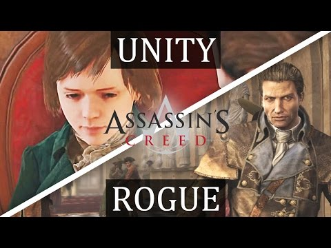 Assassin's Creed UNITY x ROGUE - Story Connection Explained