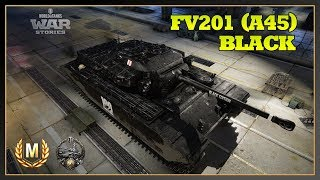 World of Tanks // FV201 (A45) Black Edition // Ace Tanker // Spartan //Xbox One