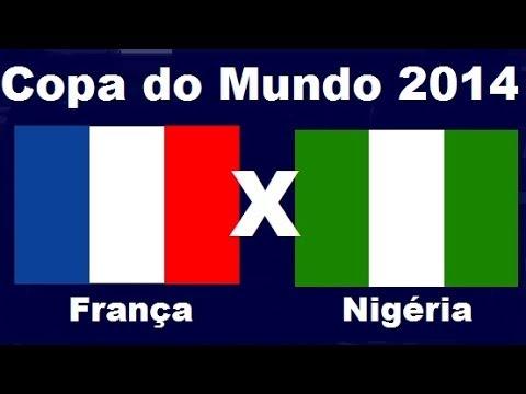 França 2 x 0 Nigeria - Oitavas de Final - Copa do Mundo 2014 Brasil - Jogo Completo Audio TV Globo