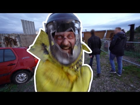 Download NO MAN'S LAND Scare Zone at Horror Nights - Traumatica 2019 at Europa-Park Mp4 baru
