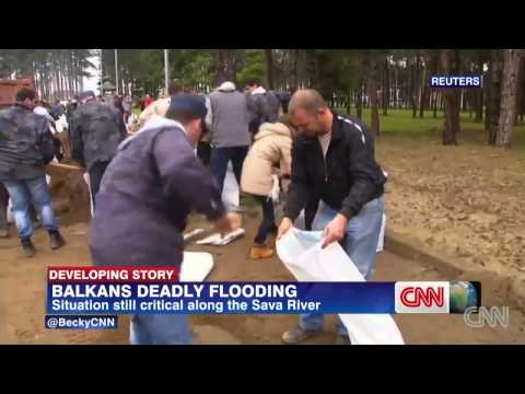 Historic Floods : Worst Flooding in more than a Century hits Eastern Europe (May 19, 2014)