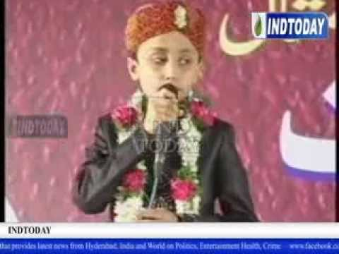 All India Mahfil E Naat 2014 Held In Hyderabad video