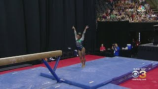 Simone Biles Makes History During Gymnastics Championships