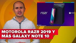 Más del Galaxy Note 10, el OnePlus 7 Pro y el Motorola Razr plegable