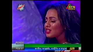 Tor Aashiqui Singing  Nusraat Faria Live song |  Aashiqui Bengali Movie 2015