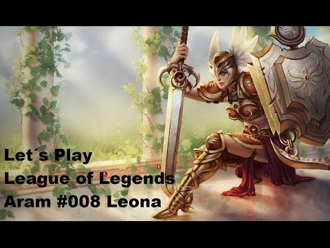 Let´s Play League Of Legends Aram #008 Leona [german] [hd]. Einfach Nur Yolo ;d video