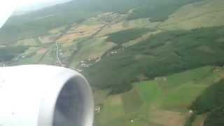 Landing at Prishtina