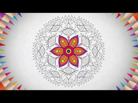 Mandala Coloring Pages APK Cover